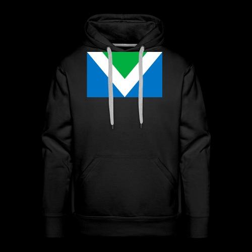 Vegan Flag International - Männer Premium Hoodie