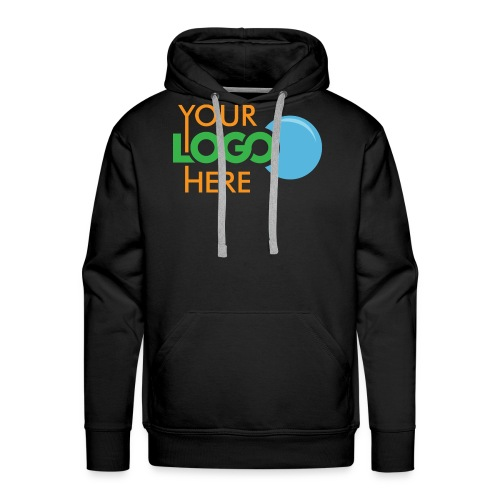 Your Logo Here - Men's Premium Hoodie