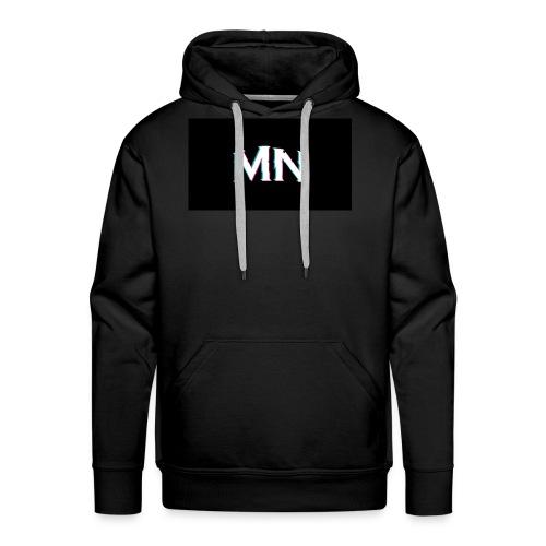 MN-Glitch Logo - Männer Premium Hoodie