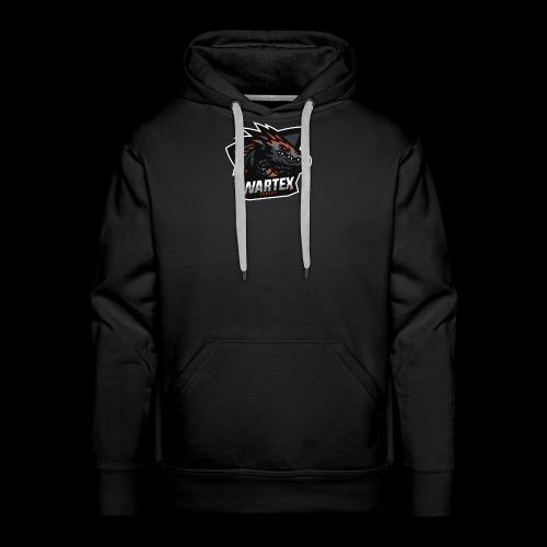 Wartex Logo Weiss - Männer Premium Hoodie