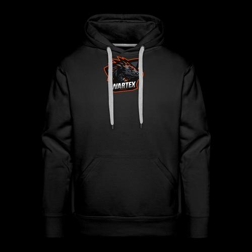 Wartex Logo orange - Männer Premium Hoodie