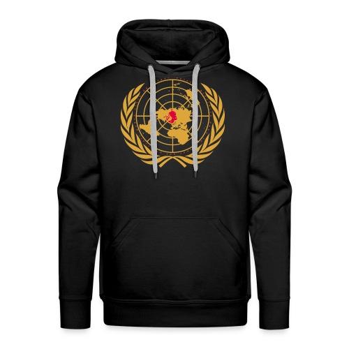 Tous unis contre le réchauffement - Sweat-shirt à capuche Premium pour hommes