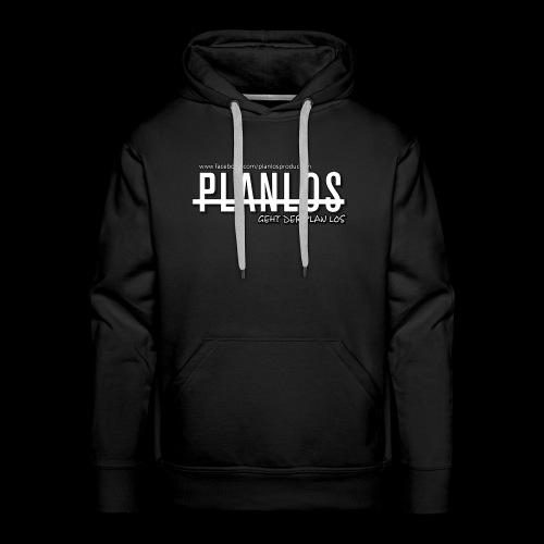 Planlos - geht der Plan los (hell) - Männer Premium Hoodie