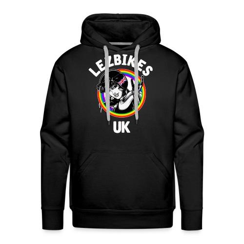 Lezbikes Logo - Men's Premium Hoodie