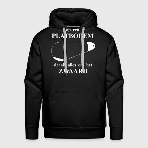 Alles draait om het zwaard. - Mannen Premium hoodie