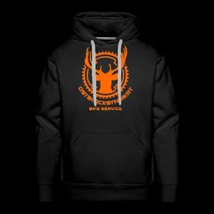 LOGO Orange - Männer Premium Hoodie