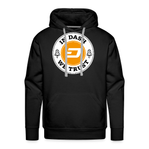IN DASH - WE TRUST - Men's Premium Hoodie