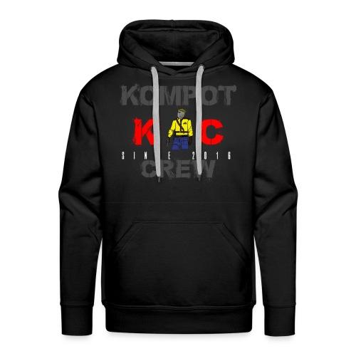 Abbigliamento Kompot Crew - Felpa con cappuccio premium da uomo