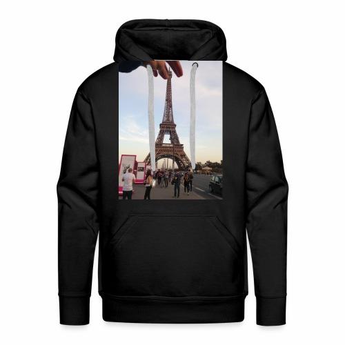 Paris Tour Eiffel - Sweat-shirt à capuche Premium pour hommes