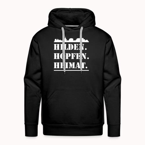 Hilden. Hopfen. Heimat. - Männer Premium Hoodie