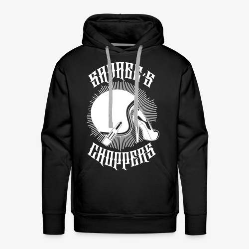 SAVAGE'S CHOPPERS # GIRL - Sweat-shirt à capuche Premium pour hommes
