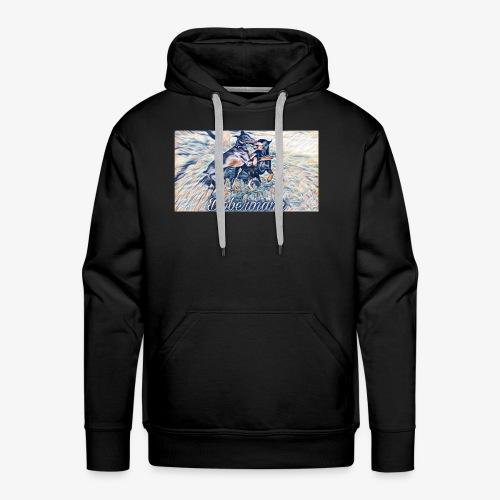 Doberman Art - Männer Premium Hoodie