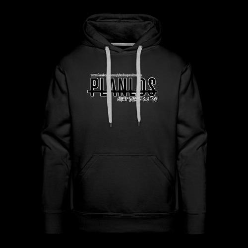 Planlos geht der Plan los (dunkel) - Männer Premium Hoodie