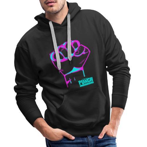 Punch Underground Neon - Männer Premium Hoodie