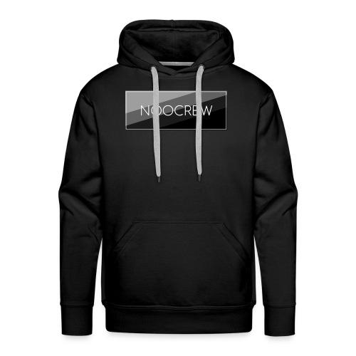 NooCrew Black Design - Männer Premium Hoodie