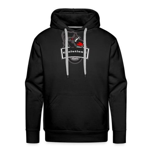Evolution X Logo Grau - Männer Premium Hoodie