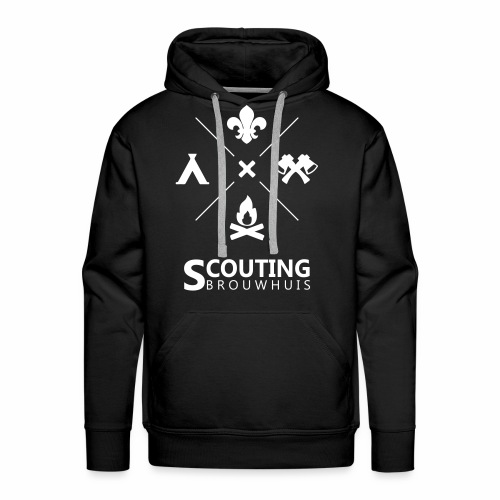 Scouting Brouwhuis - Mannen Premium hoodie