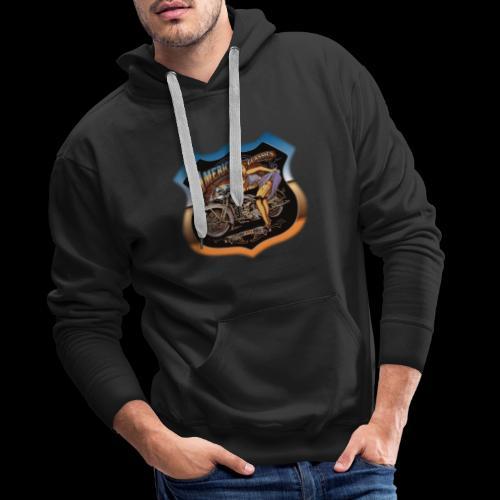 AMERICAN CLASSIC - Männer Premium Hoodie