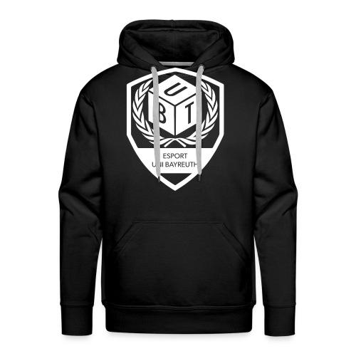 Logo_weiß - Männer Premium Hoodie