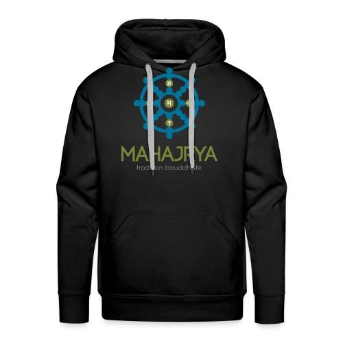 Mahajrya Logo FR - Sweat-shirt à capuche Premium pour hommes
