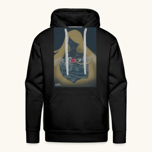 Femme en verre - Sweat-shirt à capuche Premium pour hommes