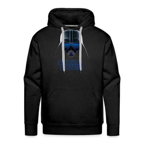Dark Vader Scuba - Sudadera con capucha premium para hombre