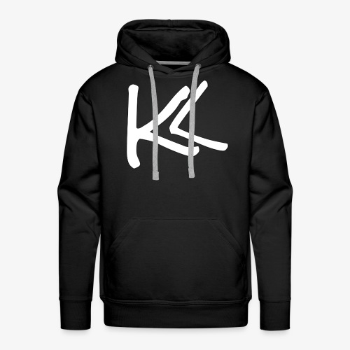 Kirbs Vlogs White Logo - Men's Premium Hoodie
