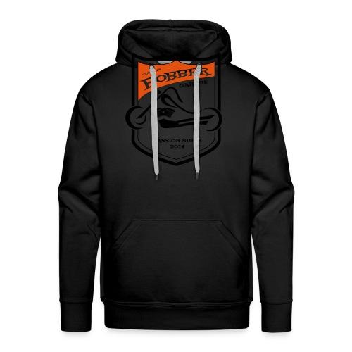 2017 07 Thomas LogoBobberGarage gestanzt - Männer Premium Hoodie