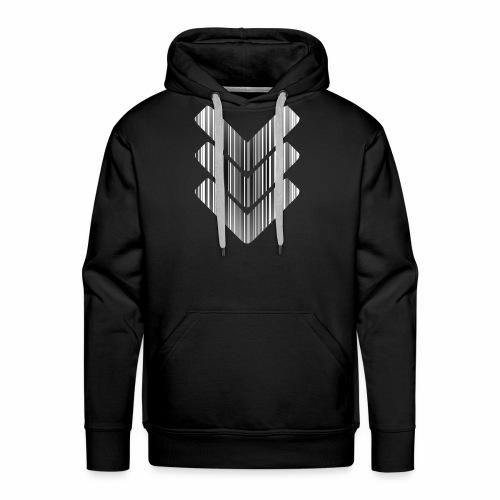 Strichcode - Männer Premium Hoodie