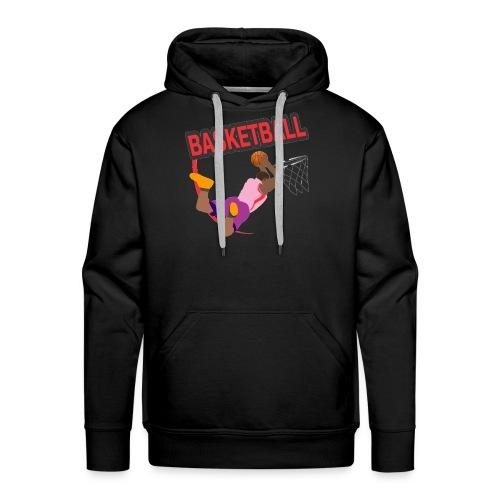 Basketball - Sweat-shirt à capuche Premium pour hommes