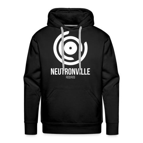 Neutronville Records Logo - Männer Premium Hoodie