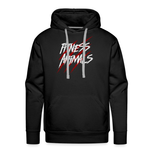 Fitness Animals BASIC - Männer Premium Hoodie