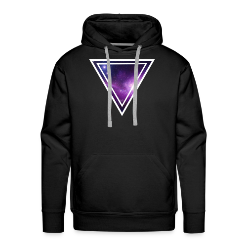 Galaxy Space Driehoek T-shirt - Mannen Premium hoodie