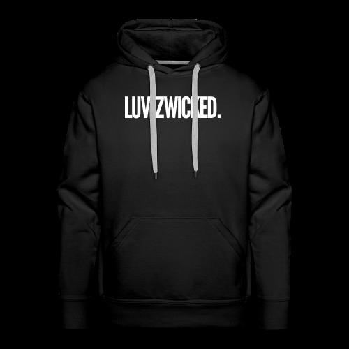 Luvizwicked - Sweat-shirt à capuche Premium pour hommes