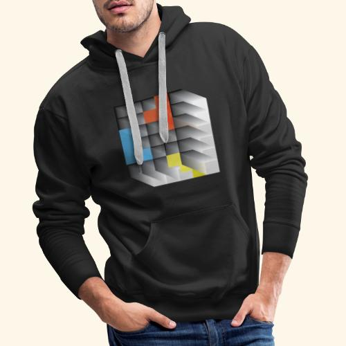 Vintage Block Game - Men's Premium Hoodie