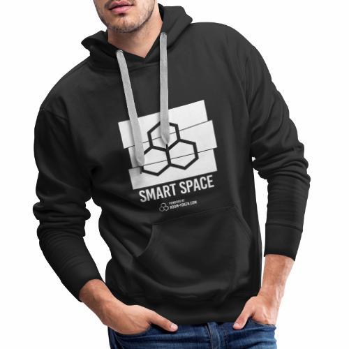 Smart Space Logo Cut - Männer Premium Hoodie