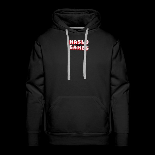 NEW HASLOGAMES LOGO - Mannen Premium hoodie