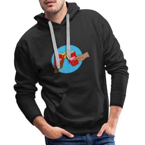 Blue/Red - Spring Break Portugal 2019 - Men's Premium Hoodie