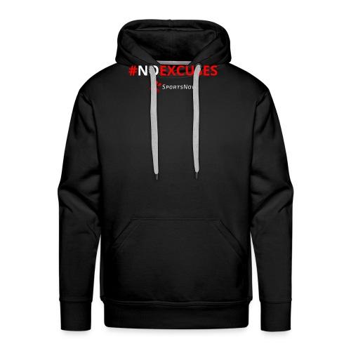 #NoExcuses - Männer Premium Hoodie