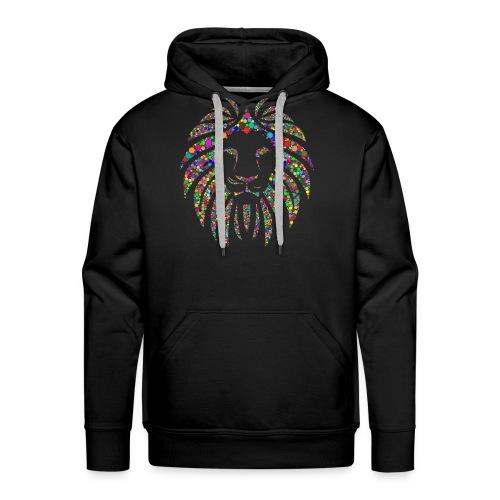 Ausdruck des Löwen - Männer Premium Hoodie