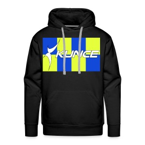 Kunce Clothing Original High Visibility Battenberg - Men's Premium Hoodie