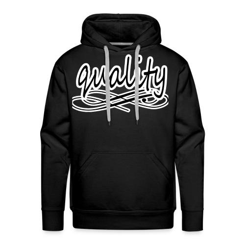 quality - Sweat-shirt à capuche Premium pour hommes