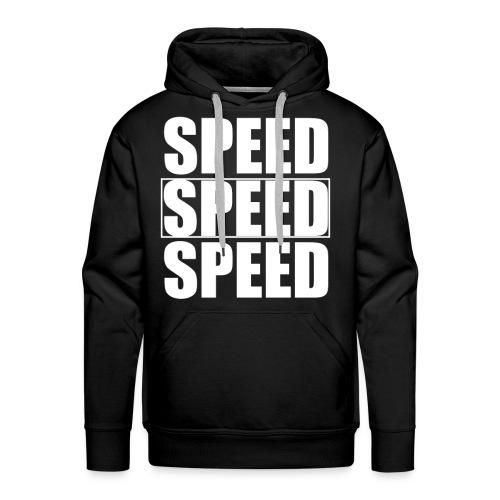 SPEED Mens MOTORSPORT Hoodie and Tee - Men's Premium Hoodie