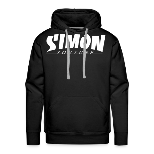 Thrasher Simon - Felpa con cappuccio premium da uomo