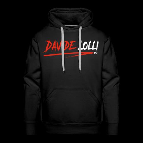 DavideLolli97 Official - Felpa con cappuccio premium da uomo