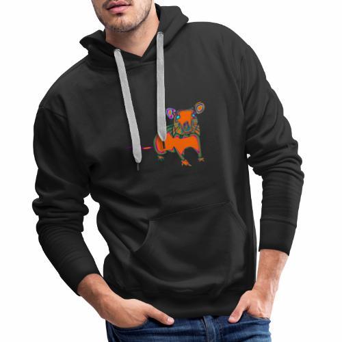 ratón - Sudadera con capucha premium para hombre