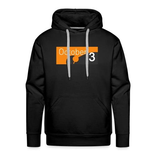 October3 - Sweat-shirt à capuche Premium pour hommes