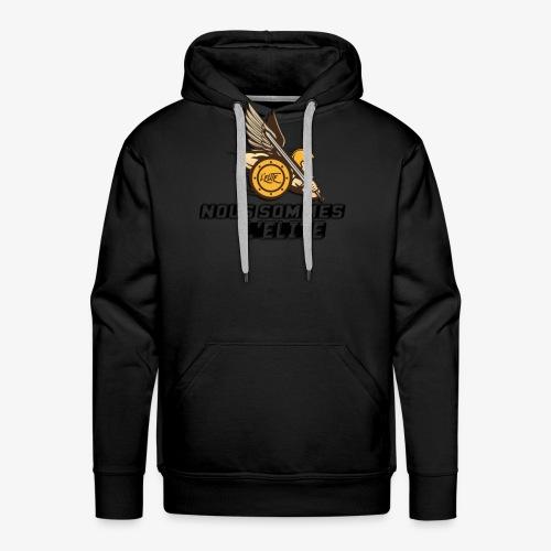 LE VRAI DARON - Sweat-shirt à capuche Premium pour hommes