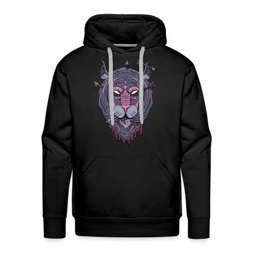 Galaxy tiger - Mannen Premium hoodie