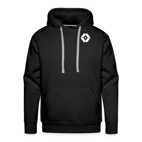 Ricover micro logo Hoodie - Mannen Premium hoodie